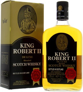 Wm. Maxwell Ltd - King Robert II Deluxe Blended Scotch Whisky 43%