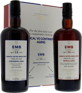 EMB Plummer 14 Years Old Tropical VS Continental Aging Coffret