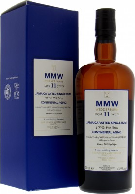 Scheer & Verlier - MMW Wederburn 11 Years Old Continental Aging 63.1% 2008