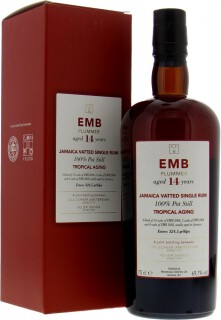 EMB Plummer 14 Years Old Tropical Aging 69.7%