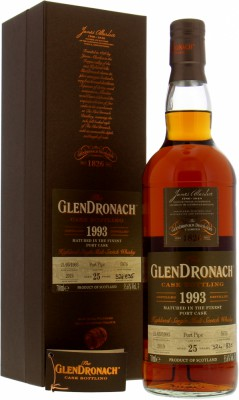 Glendronach - 25 Years Old Batch 17 Cask 5976 55.6% 1993