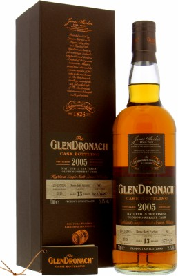 Glendronach - 13 Years Old Batch 17 Cask 887 55.1% 2005