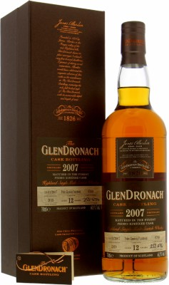 Glendronach - 12 Years Old Batch 17 Cask 6769 60.9% 2007