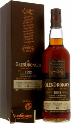 26 Years Old Batch 17 Cask 221 56.5%Glendronach -