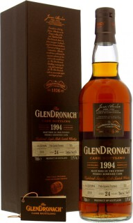 Glendronach - 24 Years Old Batch 17 Cask 325 51.9%