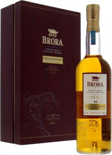 Brora - 40 Years Old 200th Anniversary 49.2%
