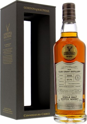 G&M Spiritual Home Exclusive Connoisseurs Choice Batch 19/089 57.7%Glen Grant -