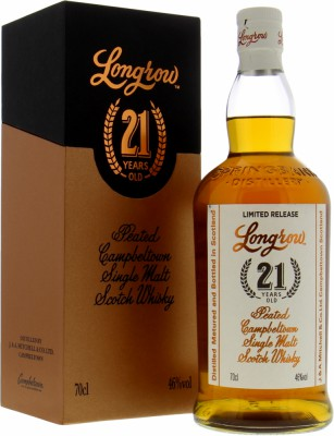 21 Years Old Limited Release 46%Longrow -