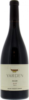 Yarden Syrah - Golan Heights Winery