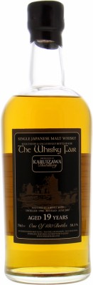 19 Years Old The Whisky Fair 58.3%Karuizawa -