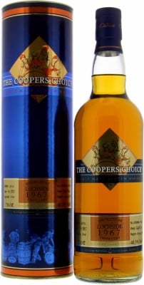 Lochside - 45 Years Old Cooper's Choice Cask 804 40.5% 1967
