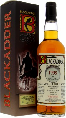 Springbank - 13 Years Old Blackadder Raw Cask HB3 53.2% 1998