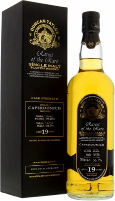 19 Years Old  Duncan Taylor Rarest of the Rare Cask 46213 56.7%Caperdonich -