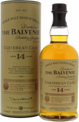 14 Years Old Caribbean Cask 43%Balvenie -