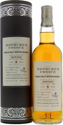 Benrinnes - 8 Years Old Hepburn's Choice 46% 2009