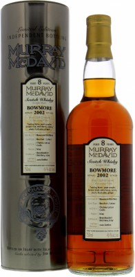 8 Years Old Murray McDavid 46%Bowmore -