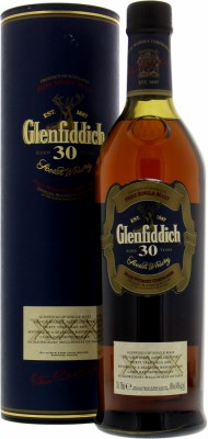 30 Years Old XXX 40%Glenfiddich -
