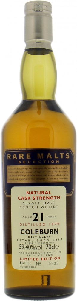 Coleburn - 1979 Rare Malts Selection 59,4% 1979