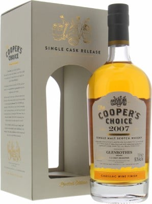 Glenrothes - 12 Years Old Cooper's Choice 56.3% 2007