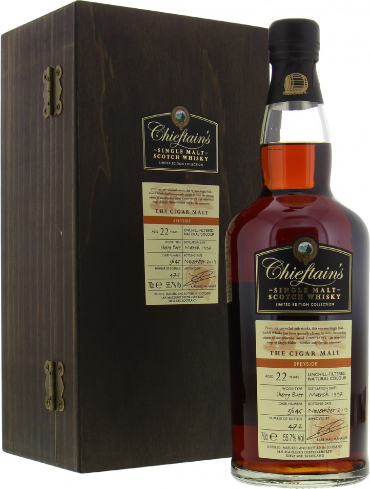 Ian Macleod - The Cigar Malt 22 Years Old Cask 3645 55.7%
