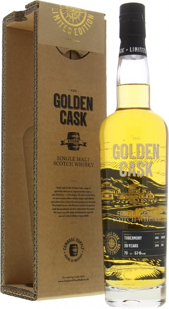 Tobermory - 20 Years Old The Golden Cask Reserve Cask CM227 57.8%