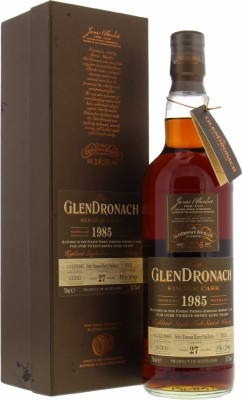 Glendronach - 27 Years Old Single Cask Batch 9 Cask 1035 53.7% 1985