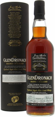 Glendronach - 25 Years Old Hand-filled at the distillery Single Cask 5086 54.7% 1994