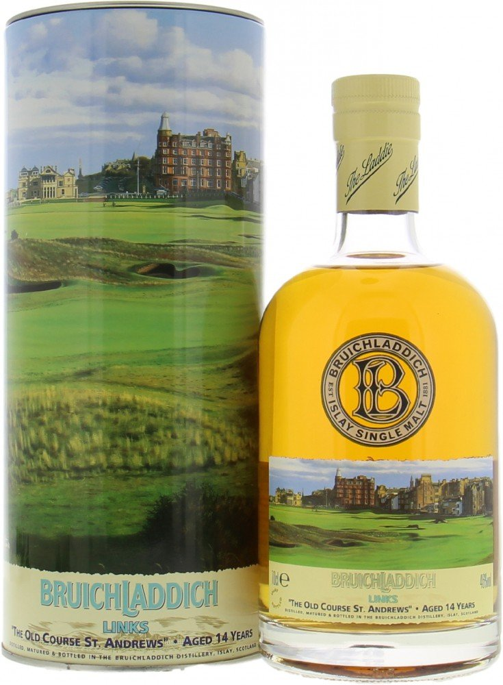 Bruichladdich - Links I The Old Course St. Andrews 17th Hole 46% NV