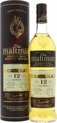 Caol Ila - 12 Years Old The Maltman Cask 303197 53.3% 2007