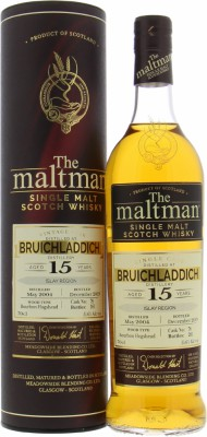 15 Years Old The Maltman Cask 78 51.6%Bruichladdich -