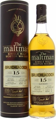 Bruichladdich - 15 Years Old The Maltman Cask 78 51.6% 2004
