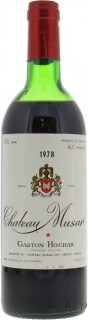 Chateau Musar - Chateau Musar 1978