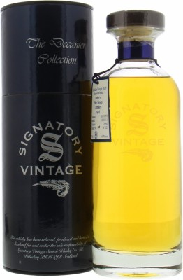 17 Years Old Signatory Vintage Decanter Collection Cask 2692 43%Ben Nevis -