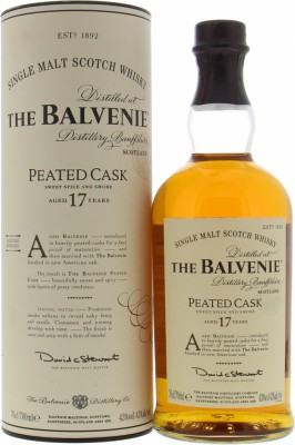 Balvenie - 17 Years Old Peated Cask 43% NV