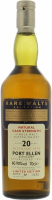Port Ellen - 20 Years Old Rare Malts Selection 60.9% 1978