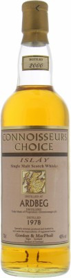 Ardbeg - 22 Years Old Gordon & MacPhail Connoisseurs Choice 40% 1978