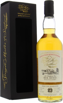 Ben Nevis - 23 Years Old The Single Malts of Scotland Cask 1783 52.3% 1996