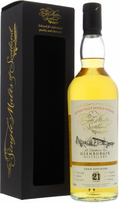 Glenburgie - 21 Years Old The Single Malts of Scotland Cask 900889 51.3% 1998