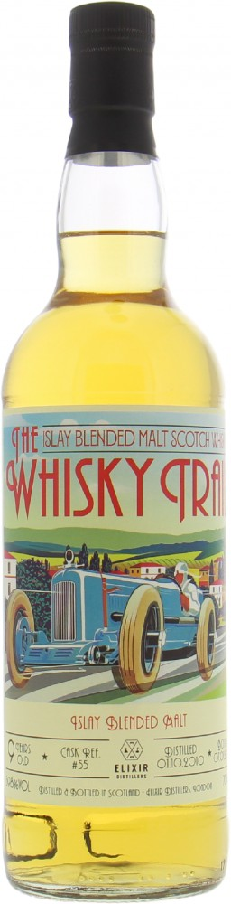 Elixer Distillers - 9 Years Old The Whisky Trail Retro Cars Cask 55 59.8% 2010