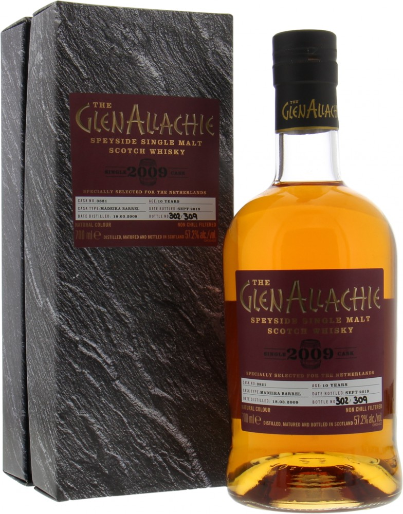 Glenallachie - 10 Years Old Single Cask 3821 57.2% 2009