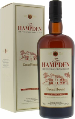 Hampden - Great House Distillery Edition 59% NV