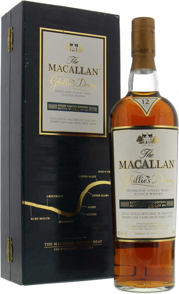 Macallan - Ghillie's Dram 40% NV
