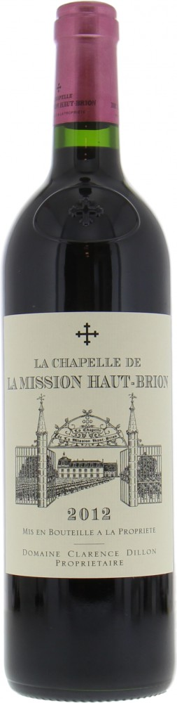 Chateau La Mission Haut Brion - La Chapelle de  La Mission Haut Brion 2012