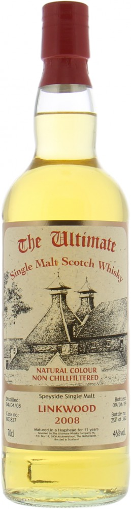 Linkwood - 11 Years Old The Ultimate Cask 803827 46% 2008
