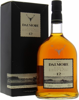 Dalmore - 12 Years Old Vintage Label 40% NV