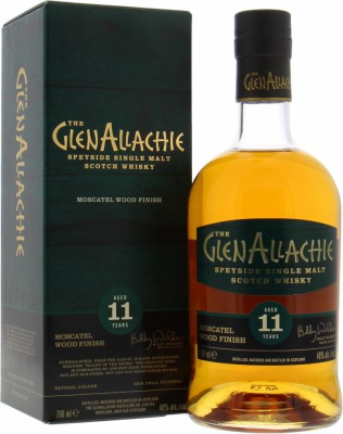 Glenallachie - 11 Years Old Moscatel Wood Finish 48% NV