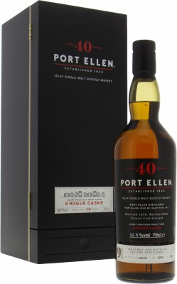 Port Ellen - Rogue Casks 40 years Old 50.9% 1979