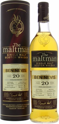 Ben Nevis - 20 Years Old The Maltman Cask 180 48.7% 1999