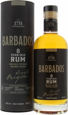 Foursquare - 1731 Fine & Rare Barbados 8 Years Old 46% 2008