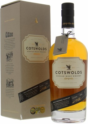 Cotswolds Distillery - 2015 Odyssey Barley Batch 04/2019 46% NV
